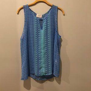 Blue Everly Blouse